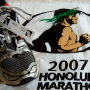 Honolulu Marathon '07