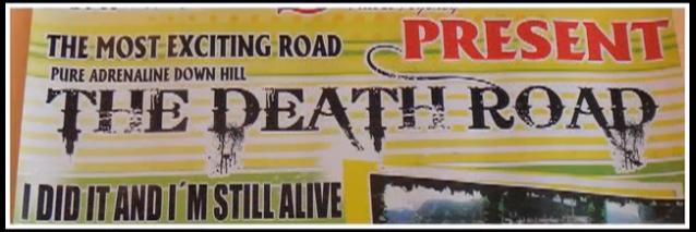 """La Paz """"Death Road"""""""