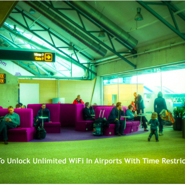 How To Unlock Unlimited WiFi In Airports …