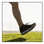 Comfortable running shoe increases the risk of injuries