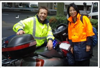 Touring Japan 2009