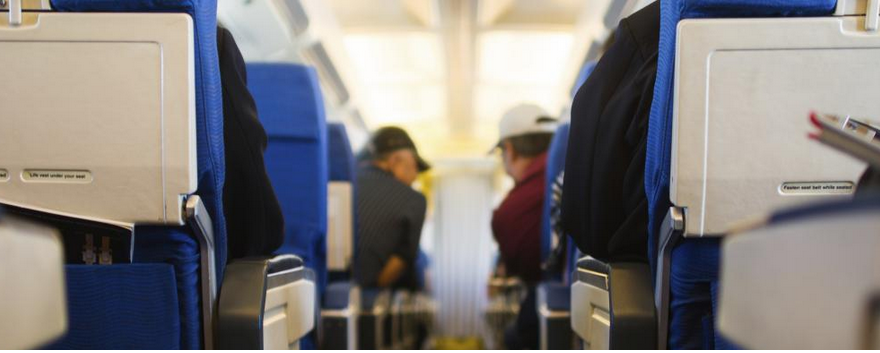 Lack of legroom when flying