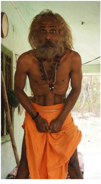 Yoga as seen by sadhus ….